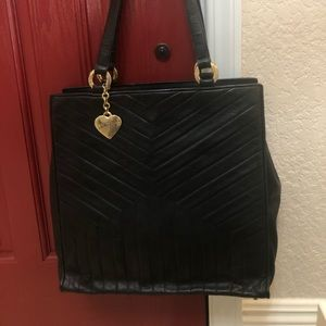 YSL Leather Tote Should Bag